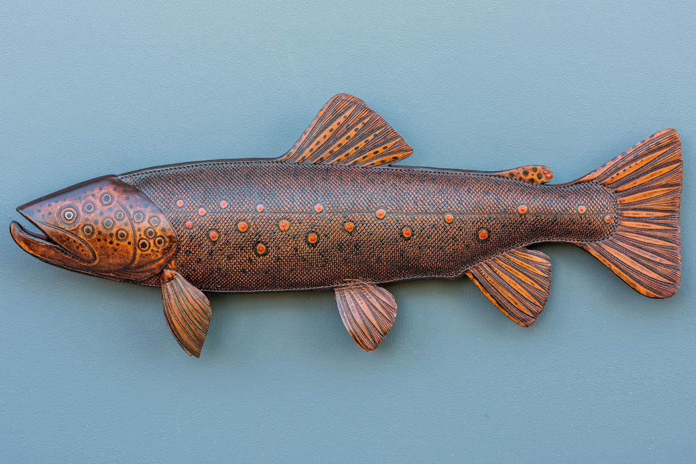 Brown Trout Natural Leather Color