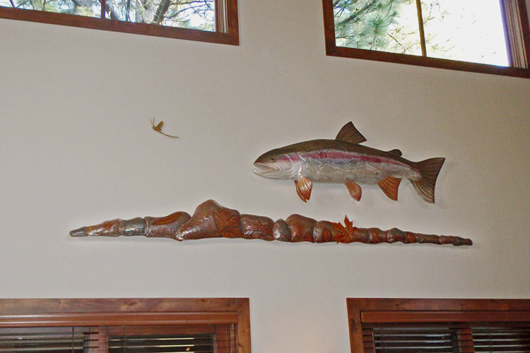 Rainbow Trout 5ft Installation