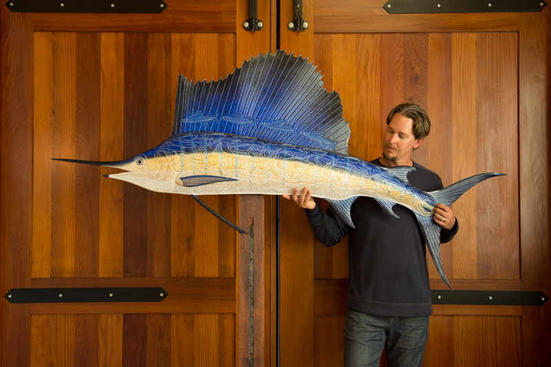 Lance with 7' Sailfish