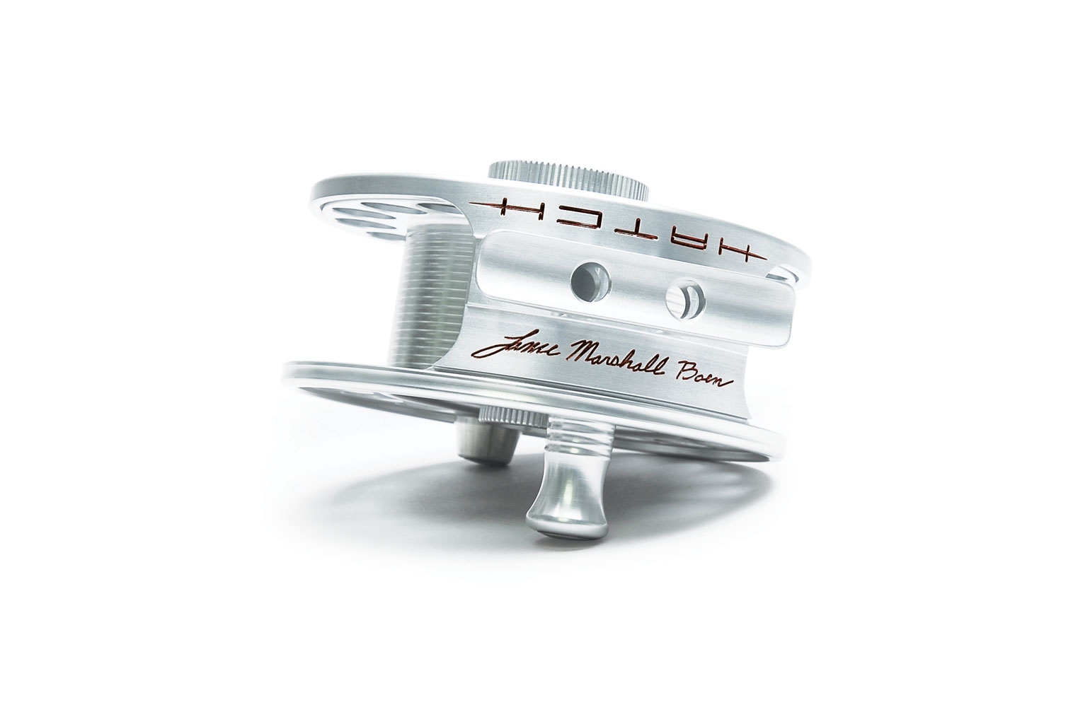 Special addition fly reel from Hatch Reels by Lance Marshall Boen