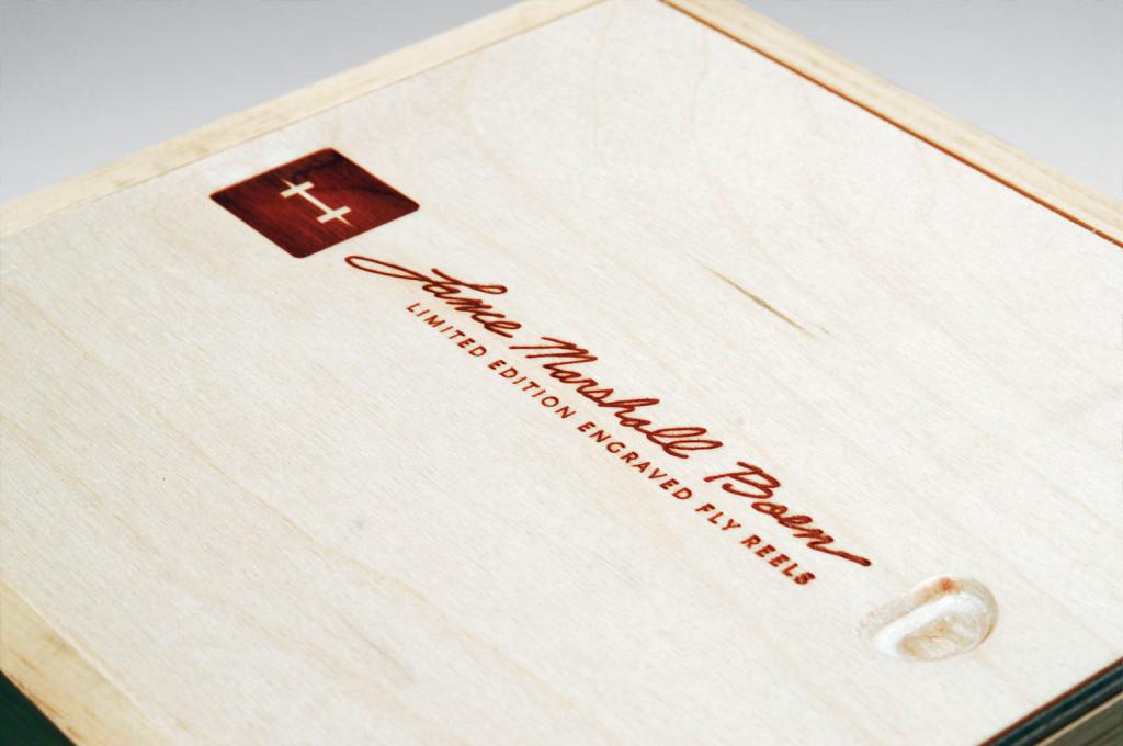 Custom Reel Winebox for Lance Boen Reel