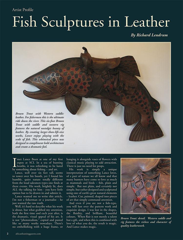 African Hunting Gazette, Spring 2012