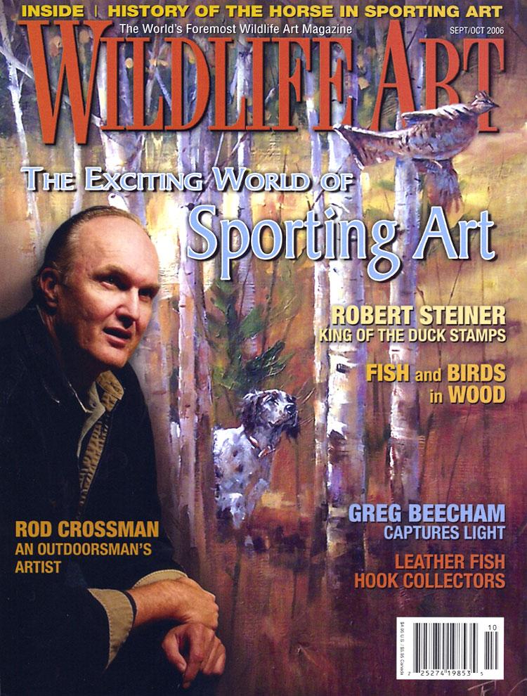 Wildlife Art, September/October 2006